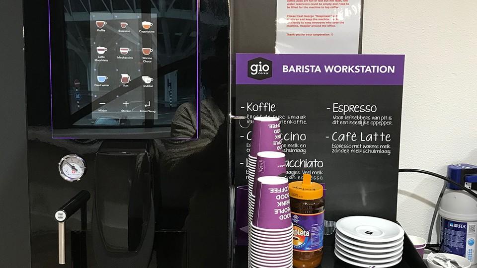 蘭塾の様子 無料のコーヒーもご提供
