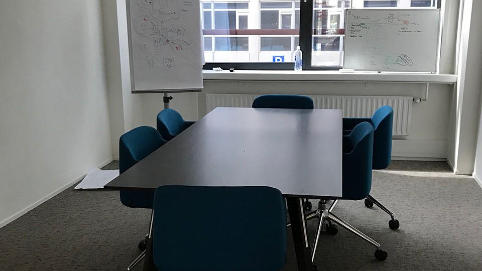 蘭塾の様子 会議室
