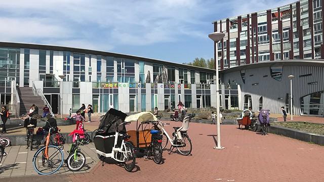 蘭塾 アムステルダム校の様子